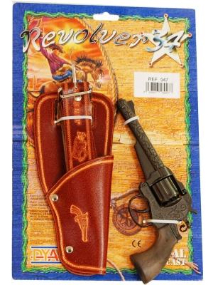 Pistol/Revolver 8-skott med hölster