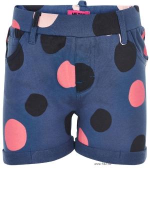 Me Too Shorts Laila298 sweat blå m prick