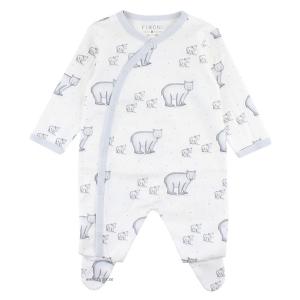 Fixoni Prematur Sparkdräkt / Pyjamas Isbjörnar 44 cl