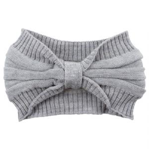 Pannband 100% Wool - Grå