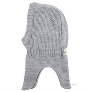 Hjälm / Balaclava 100% Wool - Grå