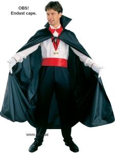 Vuxen Halloweendräkt - Dracula Cape