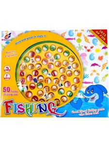 Fiskespel 50 fiskar - 4 spelare