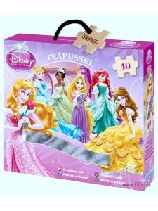 Träpussel Disney Prinssessor 40 bitar