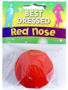 Clownnäsa röd skumgummi