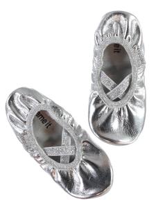 Gymnastiksko Nitkittelut silver