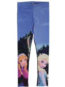 Leggings nitFrozen blå m Elsa o Anna 134