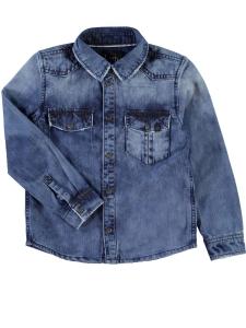 JeansSkjorta Niteddi denim slitna detalj 4c7d1ae451771