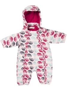 Minymo Overall Chin rosa m print
