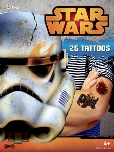Tatueringar - Star Wars 25st