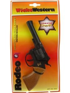 Wicke Western Revolver Knallpulverpistol 100-skott...