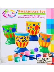 Måla dina egna Äggkoppar 4-pack