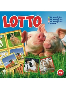 Spel - Lotto på bondgården