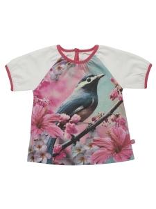 Minymo T-shirt Fani08 vit m fotoprint