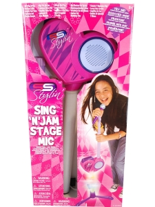 Mikrofon med stativ MP3