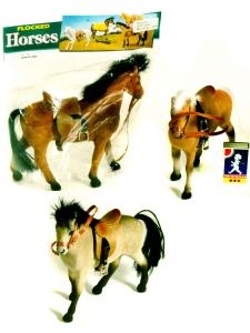 Häst med päls 18 cm 3 sorter