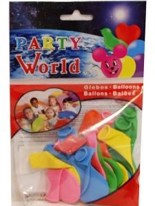 Ballonger 20st blandade färger