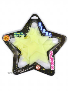 Stjärnor som lyser i mörker ca 24st