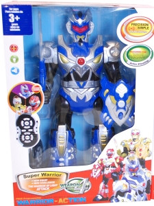 Stor Robot / Radiostyrd Robot med ljus/ljud