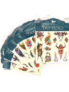 Tatueringar glitter