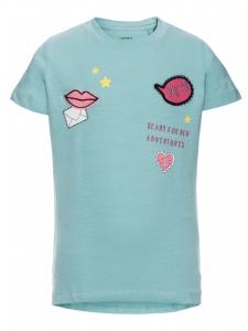T-shirt nitHanne EKO mintgrön