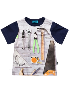 Me Too T-shirt Klaus249 med verktyg