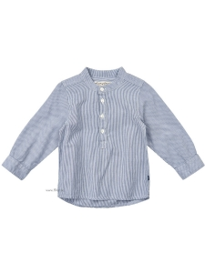 Minymo FarfarsSkjorta Kato81 blårandig