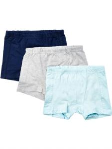 3-pack Boxerkalsong Basic61 ljusblå/grå/