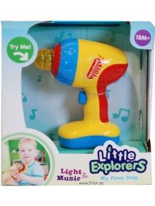 Borrmaskin med ljus/ljud