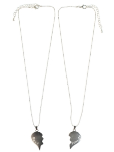 Halsband nitacc-Lis silver Best Friends