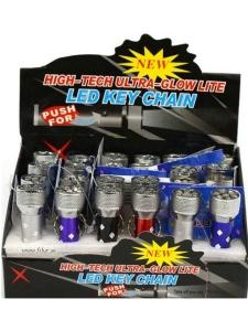 Nyckelring Ficklampa Led