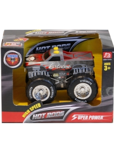 Bil Monstertruck - Kör och låter