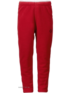 Didriksons Fleecebyxa Monte röd