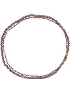 Creamie Halsband Marla lila/guld