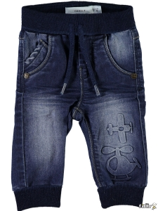 Name It Jeans Romeo - Babyjeans med mudd