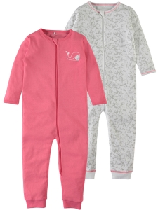 Helpyjamas Nightsuit 2-pack med zip