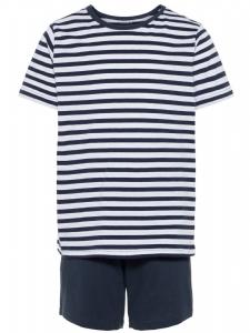 SommarPyjamas Nightset / Pyjamas med korta ärmar o...