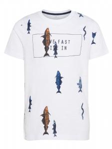 T-shirt IBRAHIM med fiskar EKO
