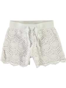 Vita Shorts med Spets KANI EKO