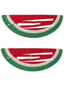 Hårspänne Vattenmelon 2-pack