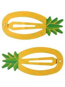 Hårspänne Ananas 2-pack