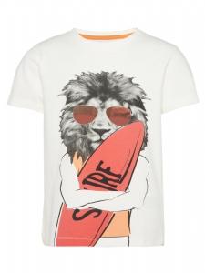 T-Shirt med Coolt Lejon EKO