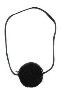 Handväska nkfacc-Louise svart m paljette