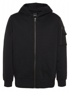 LMTD LUCAS SWEAT CARD HOOD Svart EKO