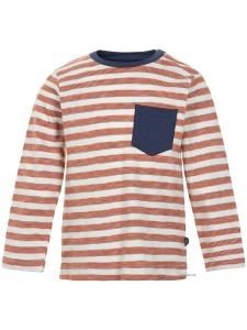 T-Shirt  LS w. Y/D stripe