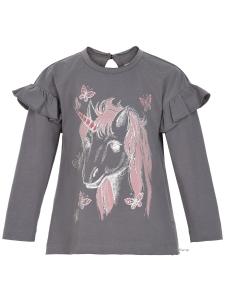 T-shirt LS w. print