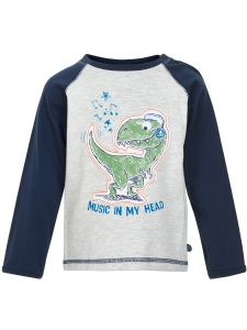 Minymo T-Shirt LS Dinosaurie