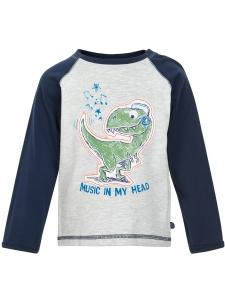 Minymo T-Shirt LS Dinosaurie