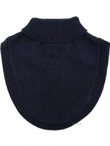 Fuskpolo Marinblå 100% Wool