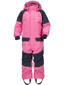 Didriksons Bille Overall Lollipop Pink